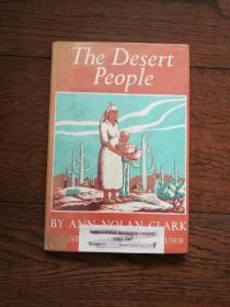 The Desert People(英文原版,沙漠人民。外国馆藏书)