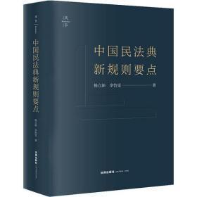 中国民法典新规则要点(无字迹无划线,外形完好)