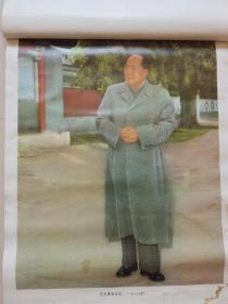 挂历散页:毛主席 在北京