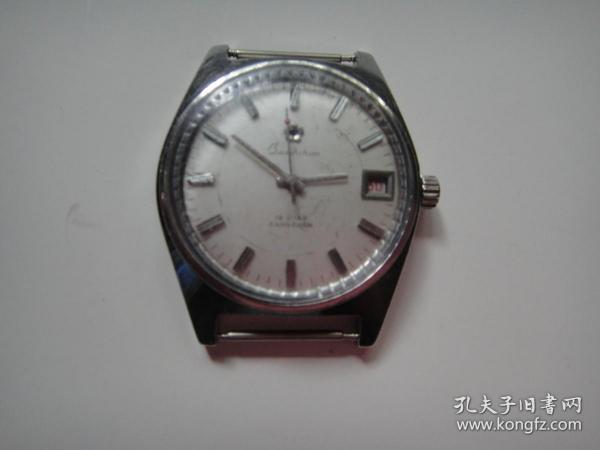 上海生产宝石花牌单历机械手表