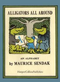 Alligators All Around (The Nutshell Library) Library Binding [平装] [4岁及以上]