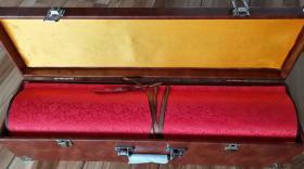 旷世巨作:木刻木版年画版画*百年辉煌百套版大全集36米长卷*国画色带水印已托裱重4.5公斤