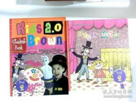 magic show 2 kids brown2.0 level 布朗儿童英语 英文儿童绘本精装本加练习册
