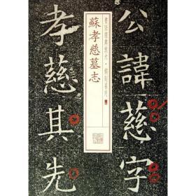 苏孝慈墓志(14)9787547905685上海书画出版社