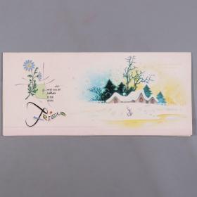 中央音樂學院楊-儒-懷夫婦舊藏:北方民族大學音樂舞蹈學院講師 雷興明賀卡一件HXTX383833