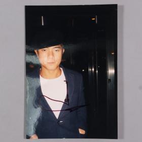 华语影视男演员、歌手、舞者 郭富城 签名照 一张(尺寸15*10cm)HXTX330250