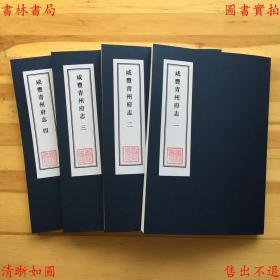 【复印件】咸丰青州府志-(清)毛永柏修-清咸丰刻本缩印本
