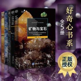 【正版现货】好奇心书系全5册 中国常见古生物化石+矿物与宝石+天体与天象+云与大气现象+岩石与地貌奇妙的大自然生态书籍