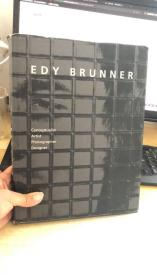 Edy Brunner. Conceptualist, Artist, Photographer, Designer  原版书