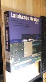 landscape design  英国景观 精装现货 原版书