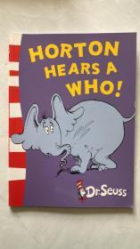 Horton Hears a Who! (Dr. Seuss: Yellow Back Books) 霍顿与名氏(苏斯博士黄背书) 英文原版