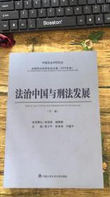 法治中国与刑法发展  下