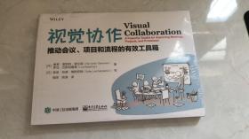视觉协作:推动会议、项目和流程的有效工具箱  未拆封