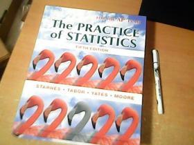英文原版 the practice of statistics fifth edition  16开 精装   品佳  【室】