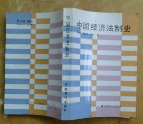中国经济法制史