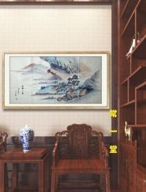 【放漏结缘·保真】国家一级美术师、山东美协会员  胡明彦 山水作品