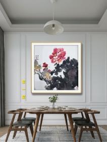 【收藏级·保真】中国当代著名画家、博友书画院院长 刘松会 作品