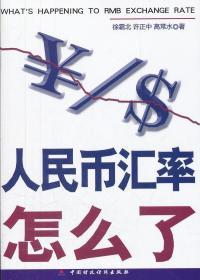 正版  人民币汇率怎么了 9787509531853 中国财政经济出版社