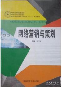 网络营销与策划 沈易娟朱志辉敖日罕 湖南师范大学出版社 978
