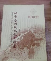 哈尔滨城市空间战略规划探索 俞滨洋 哈尔滨出版社 978780639