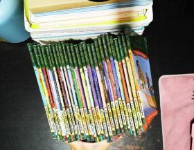 神奇树屋1-28册 英文版 【缺少16,19册,共26本合售 书脊磨损轻微脱胶】