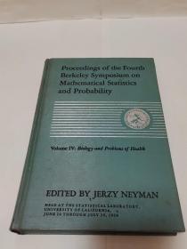 1960年第四届伯克利数学统计学与概率论会议文集第四卷