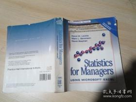 Statistics for Managers,USING MICROSOFT EXCEL,INTERNATIONAL EDITION,LEVINE BERENSON STEPHAN,PHIPE