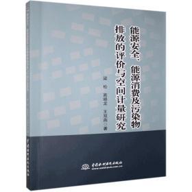 正版书籍能源安全、能源消费及污染物排放的评价与空间计量研究