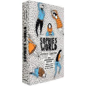 包邮现货英文原版苏菲的世界Sophie's World乔斯坦贾德哲学启蒙青少年阅读推荐经典读物