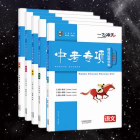 一飞冲天2022中考专项精品试题分类语文数学英语物理化学全套5本