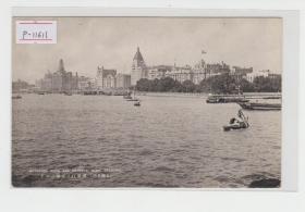 上海黄浦江民国老明信片