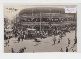 上海虹口市场民国老明信片