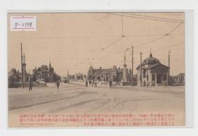 大连日本桥清末老明信片