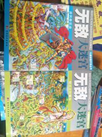 无敌大迷宫-游侠格雷迪、无敌 大迷宫 精灵吉拉娜尔,两本合售