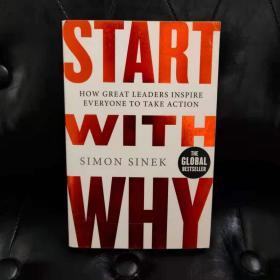 START WITH WHY 英文原版书如图