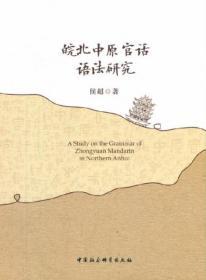 皖北中原官话语法研究