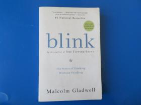 Blink:The Power of Thinking Without Thinking