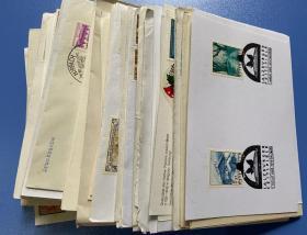快递包邮 奥地利邮票 纪念封片或实寄封片 200枚 具体如图CK05
