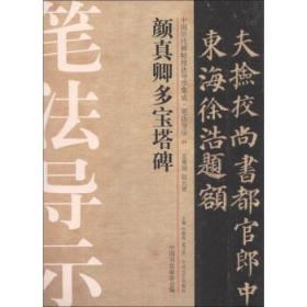 中国历代碑帖技法导学集成·笔法导示(24):颜真卿多宝塔碑 许