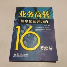 业务高管信息化领导力的16项修炼