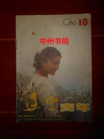 (原版老杂志)辽宁青年 1989年第18期 总第405期(底封有2处划线 内页泛黄局部有黄斑 )