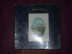 外文原版西方油画画册 DIPINTI ANTICHI 1986(全铜版彩印 无划迹 版本及品相看图免争议 )