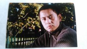 影视演员蒋振安照片,背面带签名。