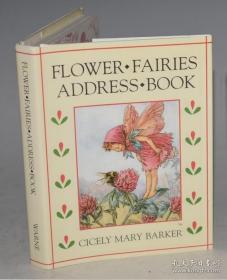 【包邮】1992年出版 Cicely Mary Barker -The Flower Fairies Address Book . 著名插画经典《花仙子通讯录》