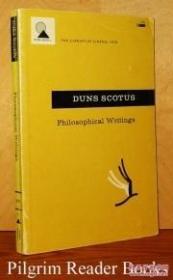 【包邮】1964年纽约出版 早期英国哲学家约翰·邓斯·司各特作品《邓斯·司各脱哲学著作》
