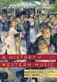 【包邮】A History Of Western Music