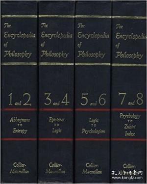 【包邮】The Encyclopedia Of Philosophy (8 Volumes In 4)