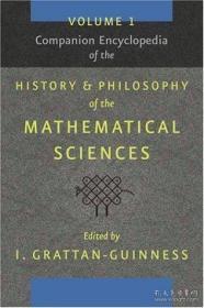 【包邮】Companion Encyclopedia of the History and Philosophy of the Mathematical Sciences (2 vols)