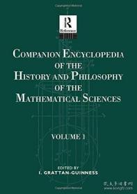 【包邮】Companion Encyclopedia of the History and Philosophy of The Mathematical Sciences