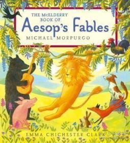 【包邮】The McElderry Book of Aesop's Fables